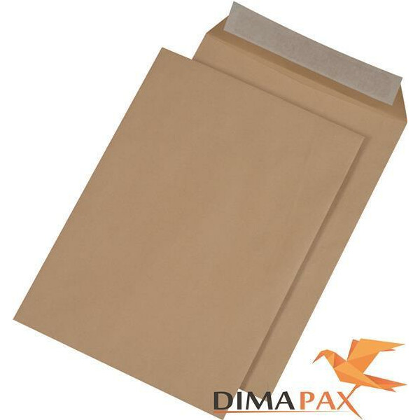 Versandtaschen DIN C4 HK 110 g/m² BRAUN