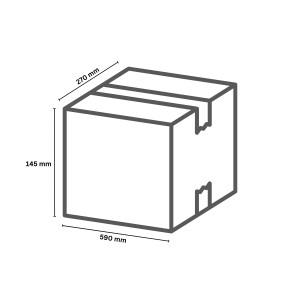 Karton 590 x 145 x 270 mm  ( 15 )