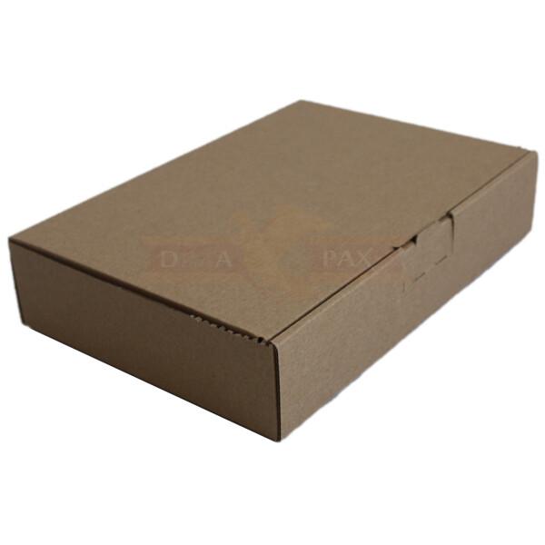 600 Großbrief Karton 230 x 160 x 20 mm Schachtel Brief Warensendung weiß