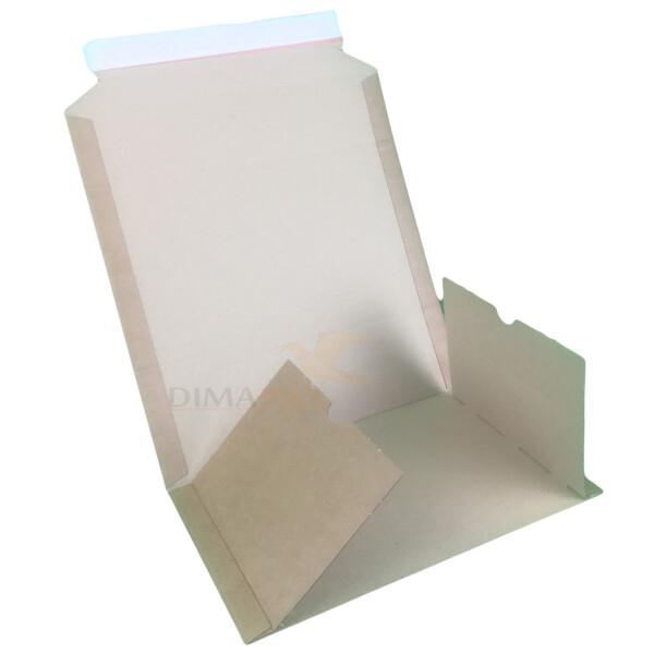 Buchverpackung 147 x 126 x 10-40 mm